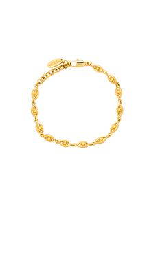 Ettika Evil Eye Charm Bracelet in Gold