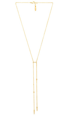 Ettika Pave Bar Necklace in Gold