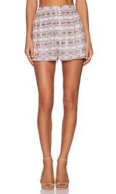 Whitney Eve Coral Creeper Short in Pink Haze