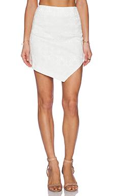 Whitney Eve Mango Skirt in White