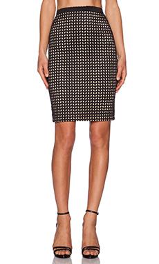 Whitney Eve Manfern Skirt in Black