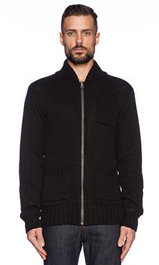 Ever Marcus Cardigan Jacket in Black