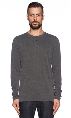 Ever Contrast Henley in Granite