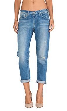 EVER Aiden Slim Slouch Jean in Vintage Worn Wash