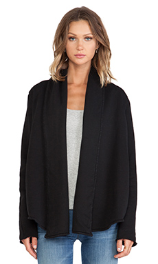 EVER Sloan Wrap Jacket in Black