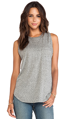 EVER Holland Pocket Tank in Heather Grey