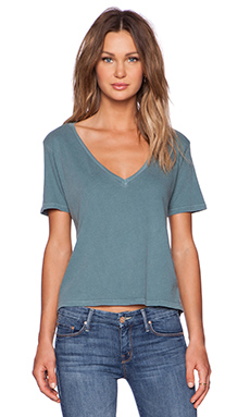 EVER Frankie Tee in Sea Green