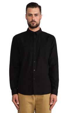 Ezekiel Karved Shirt in Black