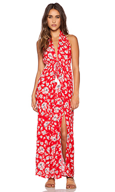 FAITHFULL THE BRAND Promenade Maxi in Summer Dreams Print