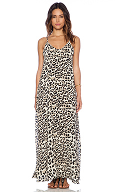 FAITHFULL THE BRAND Rising Sun Maxi in Animal Print