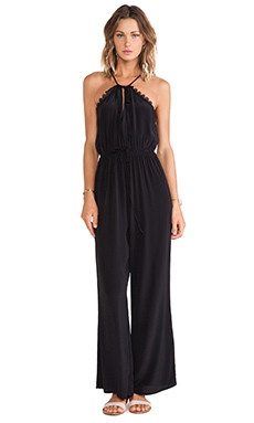 FAITHFULL THE BRAND Graceful Jumpsuit in Black