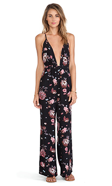 FAITHFULL THE BRAND Shutterbabe Jumpsuit in Nightingale Print