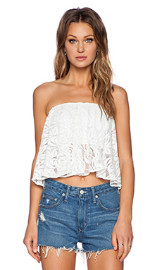 FAITHFULL THE BRAND Madness Top in lace