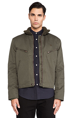Farah 1920 The Kenneth Jacket in Military Green