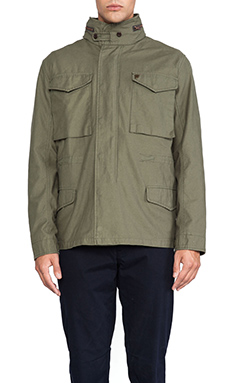 Farah 1920 The Ginsberg Jacket in Military Green