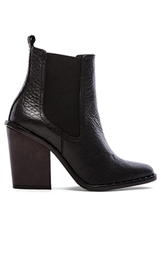 Freda Salvador Sky Boot in Black Grain