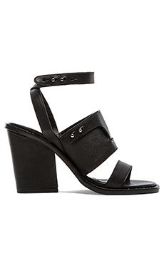 Freda Salvador Go Heel in Black Calf