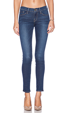 FRAME Denim Le Skinny de Jeanne in Columbia Road