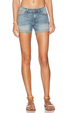 FRAME Denim Le Cut Off Cuffed Short in Cumberland