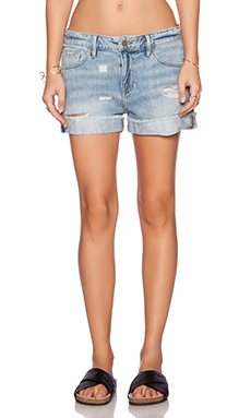 FRAME Denim Le Grand Garcon Short in Avenue
