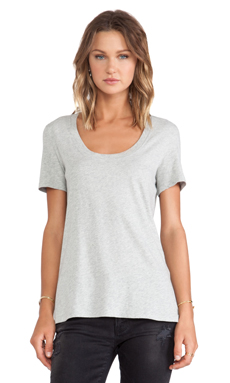 FRAME Shirt Le Classic Tee in Gris