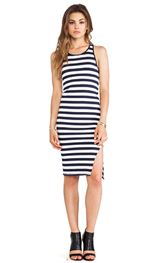 Feel the Piece Ella Dress in Stripe