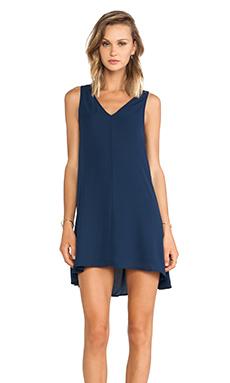 Feel the Piece Izabela A-Line Dress in Navy