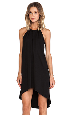 Feel the Piece Mojave Halter Dress in Black