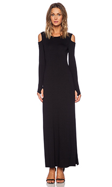 Feel the Piece Jayda Maxi Dress in Black