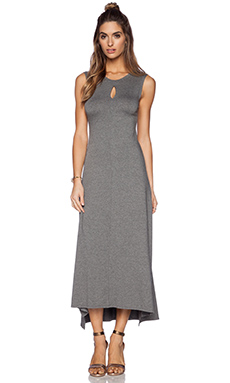 Feel the Piece Salma Maxi Dress in Medium Heather