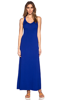 Feel the Piece Maxi Dress in Lapis