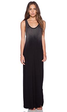 Feel the Piece Trudy Maxi Dress in Grey & Black