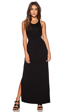 Feel the Piece Veruschka Maxi Dress in Black