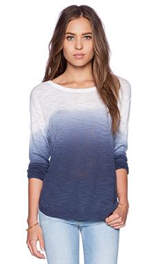 Feel the Piece Sami Dip Dye Sweater in Navy Dip Dye