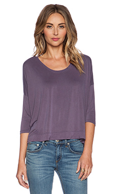 Feel the Piece Kicker Sweater in Laundered Mica