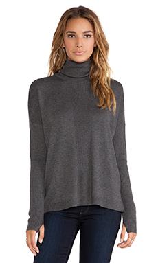 Feel the Piece Nico Sweater in Dark Heather Grey