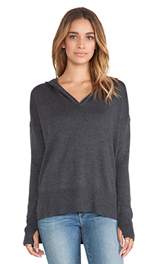Feel the Piece New Vaughn Sweater in Charcoal Heather
