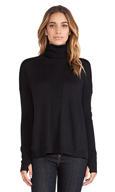 Feel the Piece Nico Sweater in Black