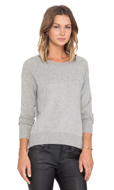 Feel the Piece Burke Sweater in Heather Grey