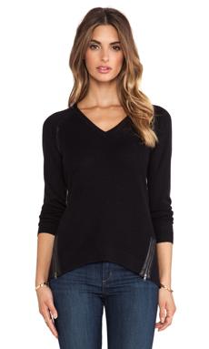 Feel the Piece Hershel Sweater in Black