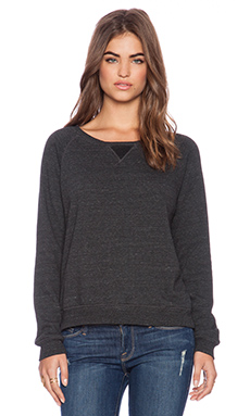 Feel the Piece Gala Pullover in Charcoal