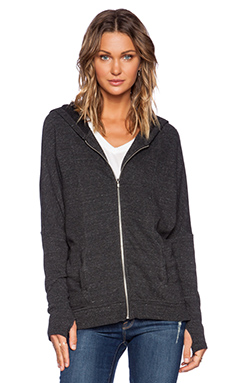 Feel the Piece Cranston Hoodie in Charcoal