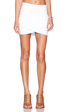 Feel the Piece Kora Mini Skirt in White