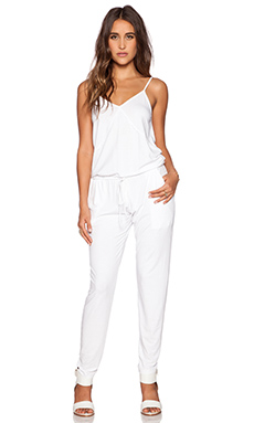 Feel the Piece Loren Jumpsuit in White