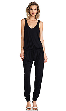 Feel the Piece Claudia Jumpsuit in Black