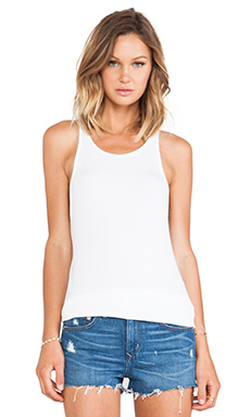 Feel the Piece Robby Tank in White