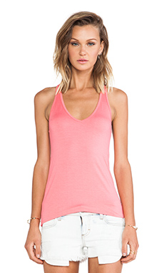 Feel the Piece Nolan Tank in Strawberry Pink