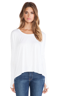 Feel the Piece Songbird Top in White