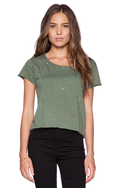 Feel the Piece x Tyler Jacobs Thomasina Top in Green Splatter