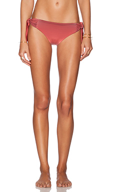 F E L L A Billy Bikini Bottom in Red Ombre